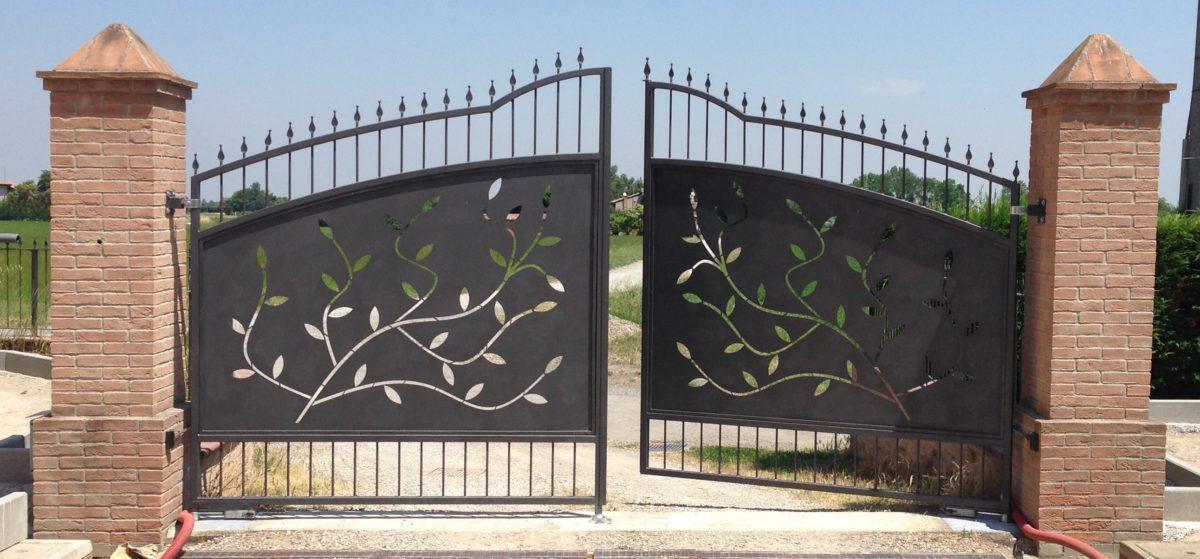 cancello a battente