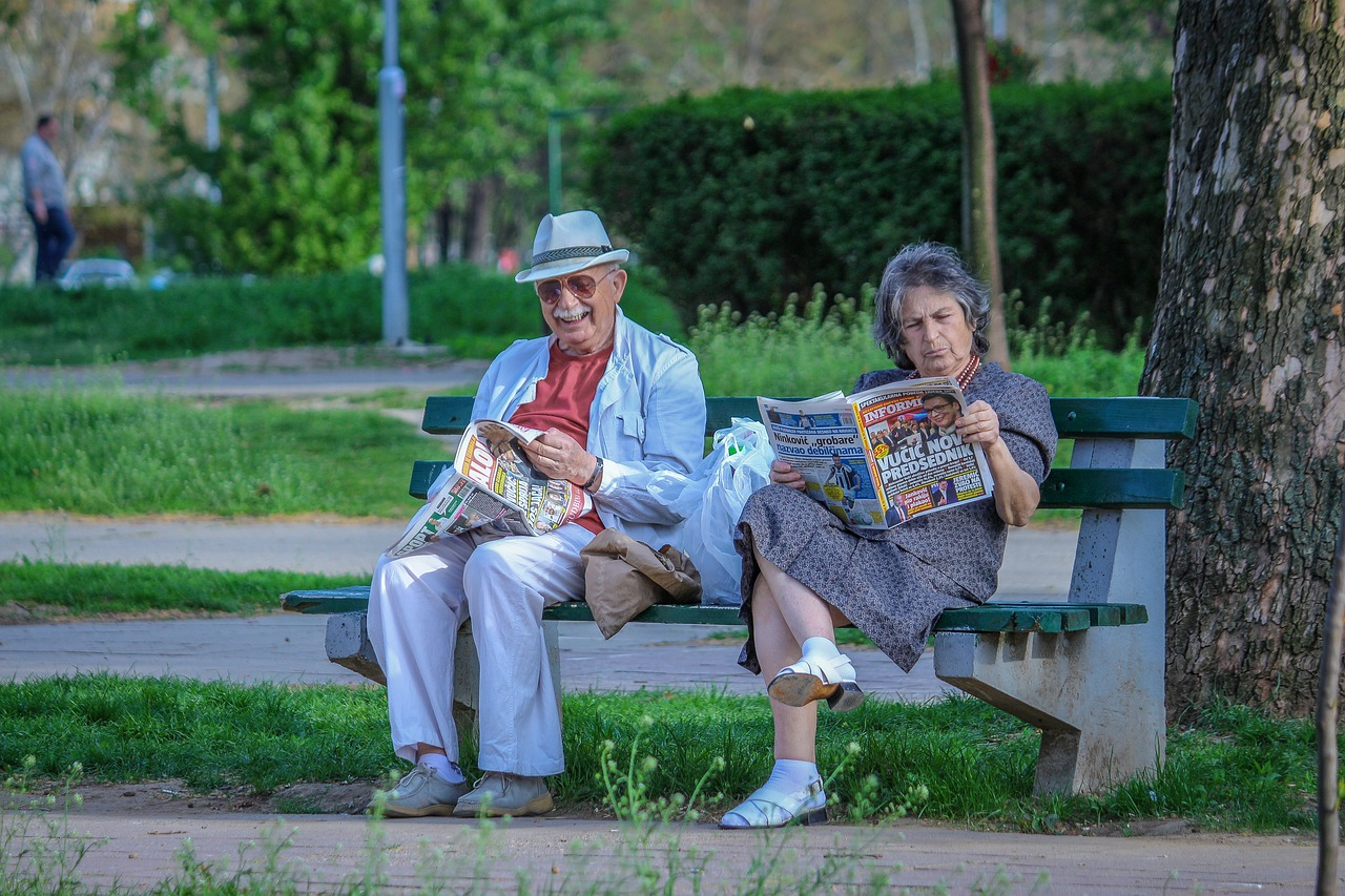 Anziani e le case di riposo